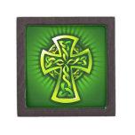 Cruz céltica caja de regalo de calidad