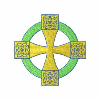 Cruz céltica sudadera bordada