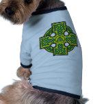 cruz céltica camisas de perritos