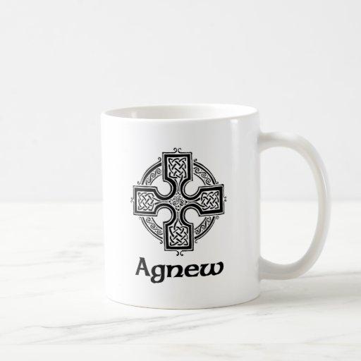 Cruz céltica de Agnew Taza De Café