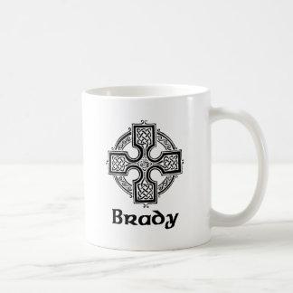 Cruz céltica de Brady Taza De Café
