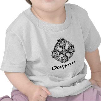 Cruz céltica de Dwyer Camisetas