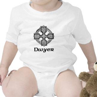 Cruz céltica de Dwyer Traje De Bebé
