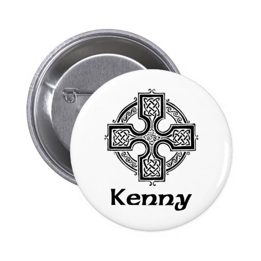 Cruz céltica de Kenny Pin Redondo 5 Cm
