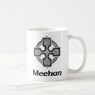 Cruz céltica de Meehan Tazas De Café