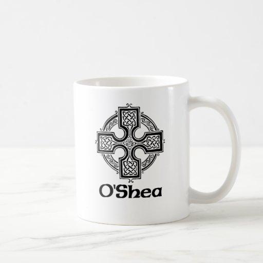 Cruz céltica de O'Shea Taza De Café