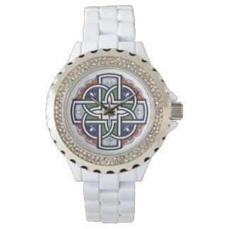 Cruz céltica Deco Reloj