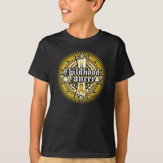 Cruz céltica del cáncer de la niñez polera