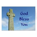 Cruz céltica felicitación
