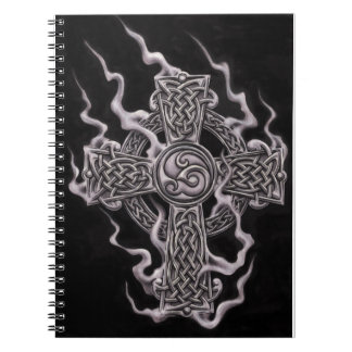 cruz céltica libreta espiral