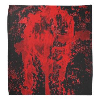 Cruz céltica pagana gótica sangrienta bandanas