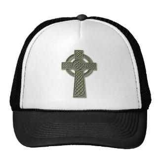 Cruz céltica - piedra gorros bordados