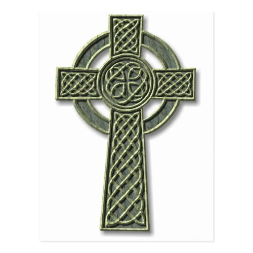 Cruz céltica - piedra postal
