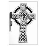 Cruz céltica pizarras blancas