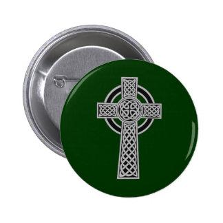 Cruz céltica - plata pin