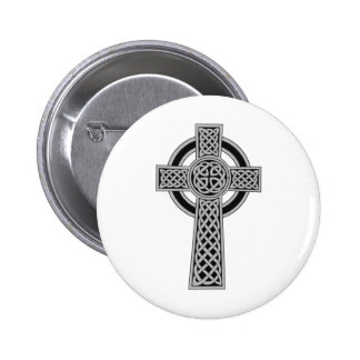 Cruz céltica - plata pins