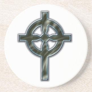 Cruz céltica posavasos diseño