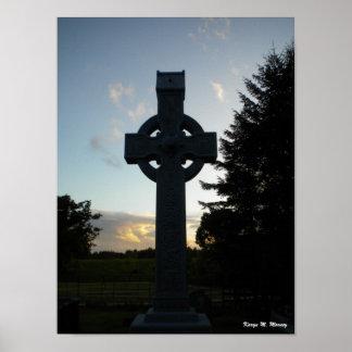 Cruz céltica póster