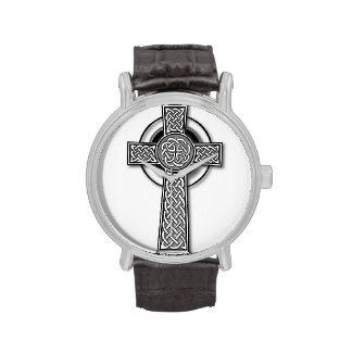 Cruz céltica relojes de pulsera