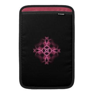 Cruz céltica rosada 11 pulgadas fundas MacBook