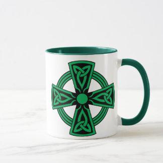Cruz céltica taza