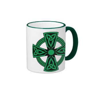 Cruz céltica tazas de café