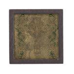 Cruz céltica y nudos célticos cajas de regalo de calidad