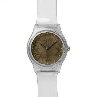 Cruz céltica y nudos célticos relojes