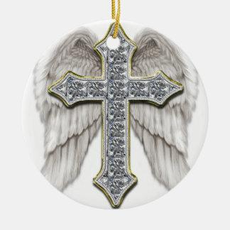 Cruz coa alas ornamentos para reyes magos