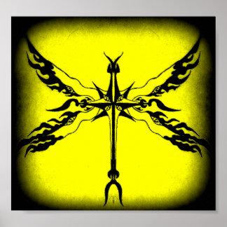 cruz coa alas póster