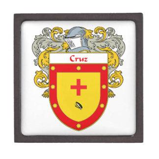 Cruz Coat of Arms/Family Crest Gift Box