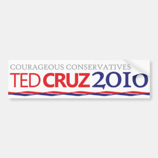 Cruz Conservative Bumper Sticker