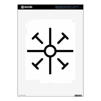 Cruz copta iPad 3 skin