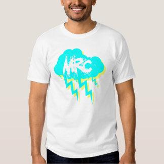 Cruz correcta mala - camiseta de la tormenta playeras