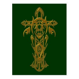 Cruz cristiana 67 postal