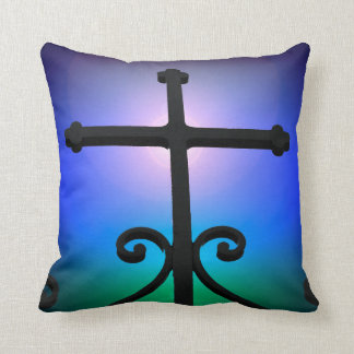Cruz cristiana cojín