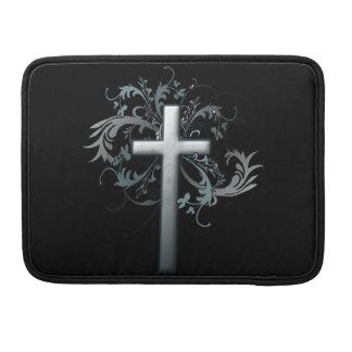 Cruz cristiana funda para macbook pro