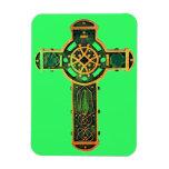 cruz cristiana imán de vinilo