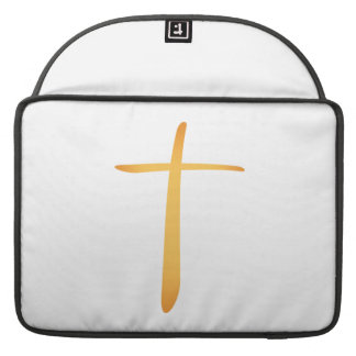 Cruz cristiana latina fundas para macbooks