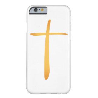 Cruz cristiana latina moderna funda barely there iPhone 6
