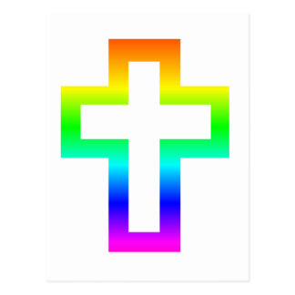Cruz (cristiana) latina postal