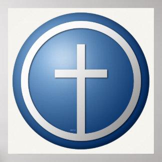 Cruz cristiana posters