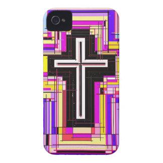 cruz cristiana religiosa funda para iPhone 4