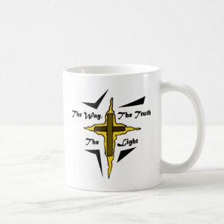Cruz cristiana tazas