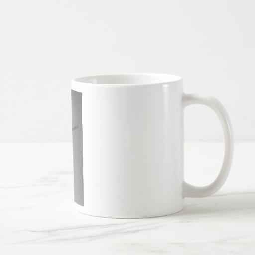 Cruz cristiana taza de café