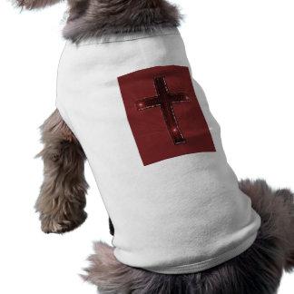 Cruz de bronce camisas de mascota