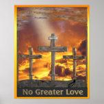 cruz de calvary cristiana del poster