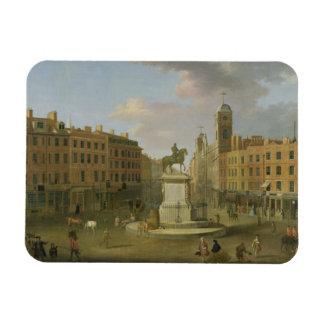 Cruz de Charing, con la estatua de rey Charles I a Iman Flexible