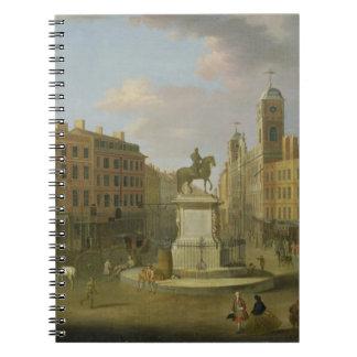 Cruz de Charing, con la estatua de rey Charles I a Libro De Apuntes Con Espiral
