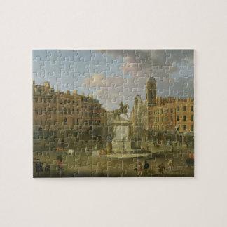 Cruz de Charing, con la estatua de rey Charles I a Puzzles